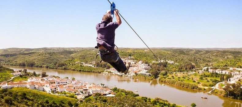 Now You Can Travel Between Portugal And Spain On An International Zip Line