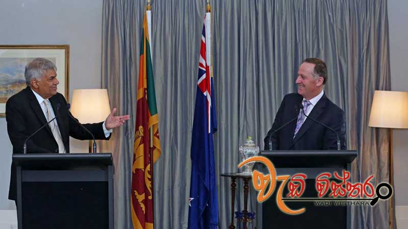 Sri Lanka on the correct path - New Zealand Prime Minister John Key