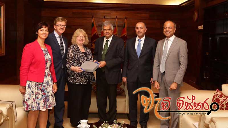 GSP+ Team Met PM Ranil