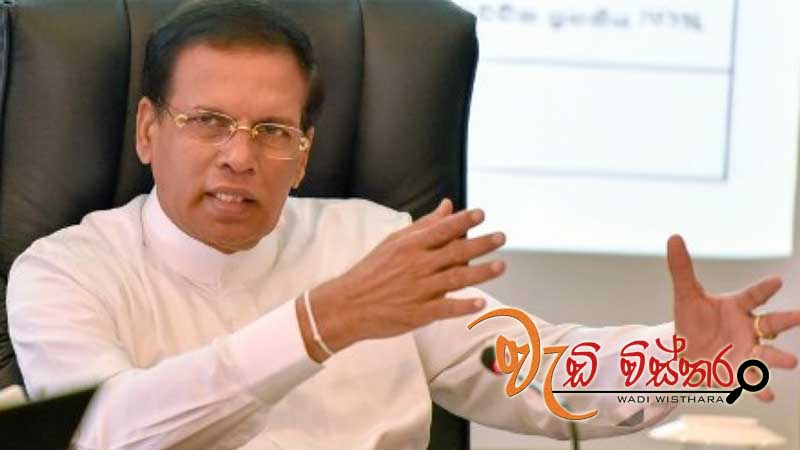 Irrigation projects should be expedited for benefit of people - President Maithripala Sirisena