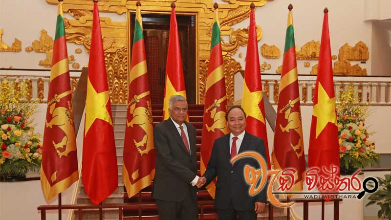 Sri Lanka - Vietnam to increase trade upto USD 1 billion
