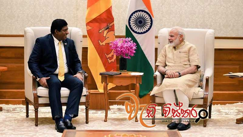 foreign-minister-ravi-karunanayake-visits-india