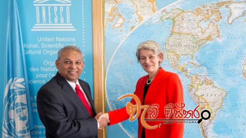 ambassador-athauda-presents-credentials-to-dg-unesco
