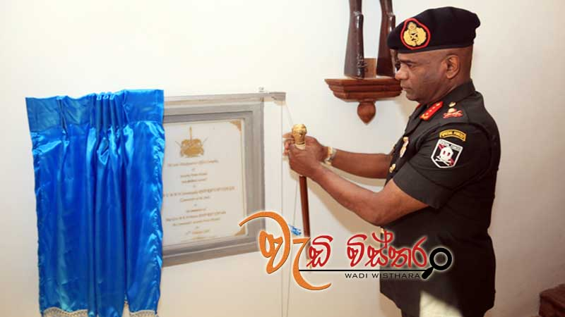new-office-complex-at-sfhq-wanni-inaugurated-in-simple-ceremony