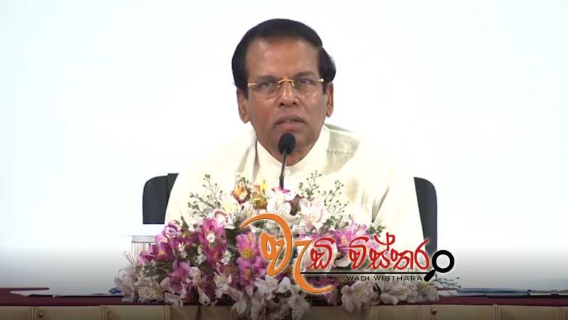 president-sirisena-instructs-authorities-to-provide-relief-swiftly