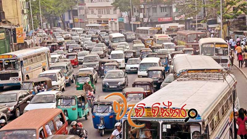 heavy-traffic-in-battaramulla-due-to-protest